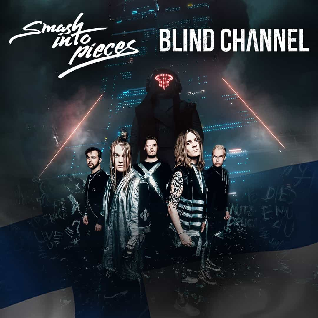 Smash Into Pieces & Blind Channel klo 20