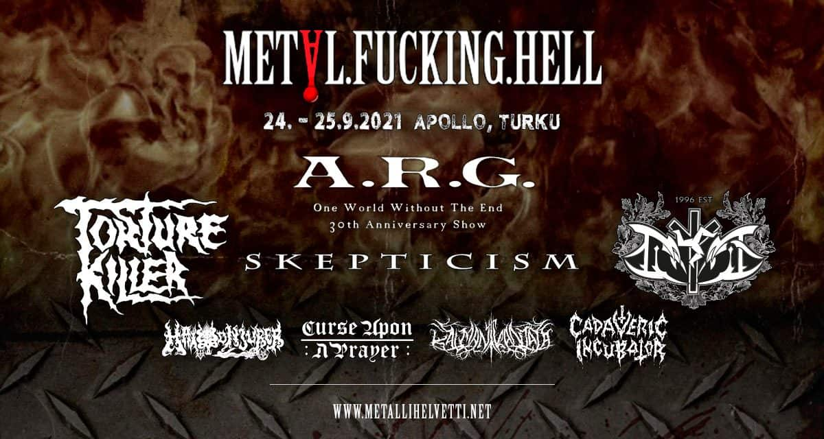 METAL.FUCKING.HELL extreme metal festival